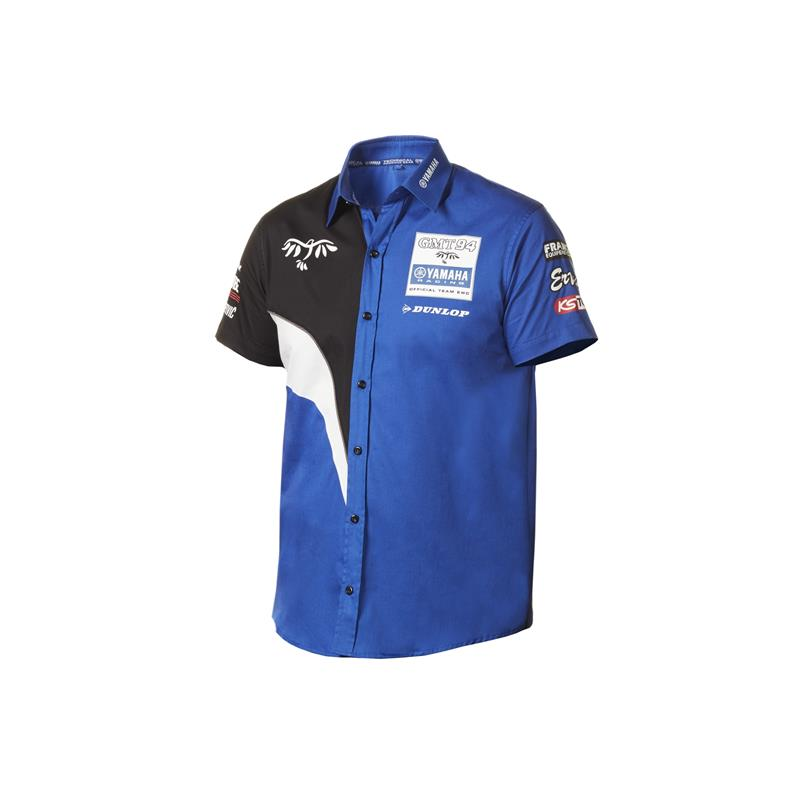 Replika pit-shirt med GMT94 Yamaha EWC Racing Team