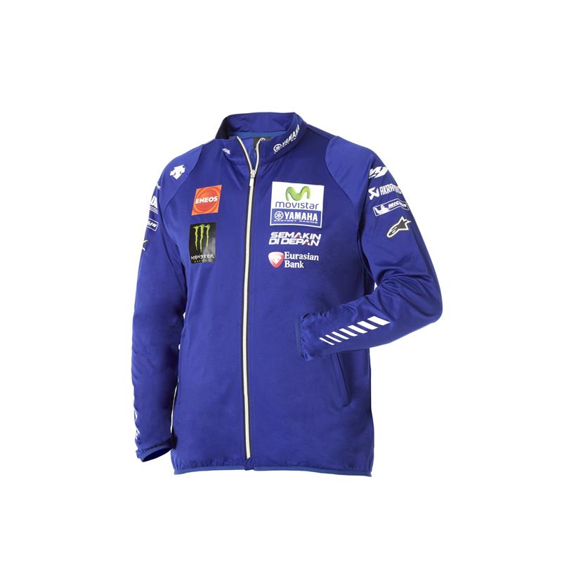 Authentische Yamaha MotoGP Team Softshell-Jacke