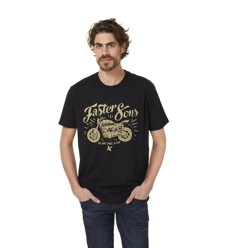 Faster Sons T-shirt by Roland Sands