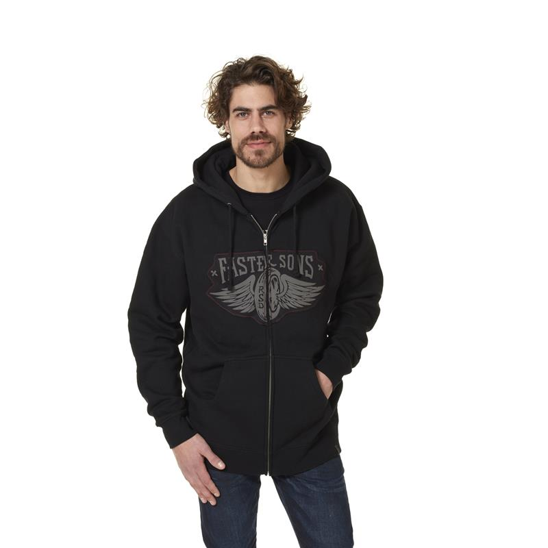 Faster Sons Hoody by Roland Sands