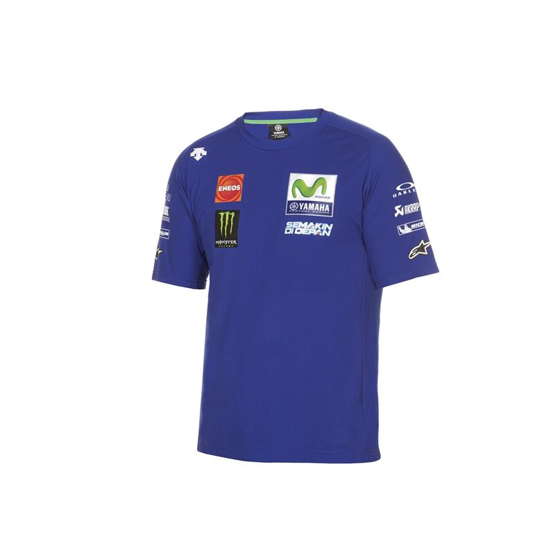 T-shirt officiel de la Team Yamaha en MotoGP