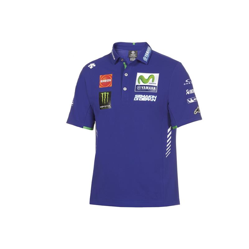 Authentieke Yamaha MotoGP Team-polo