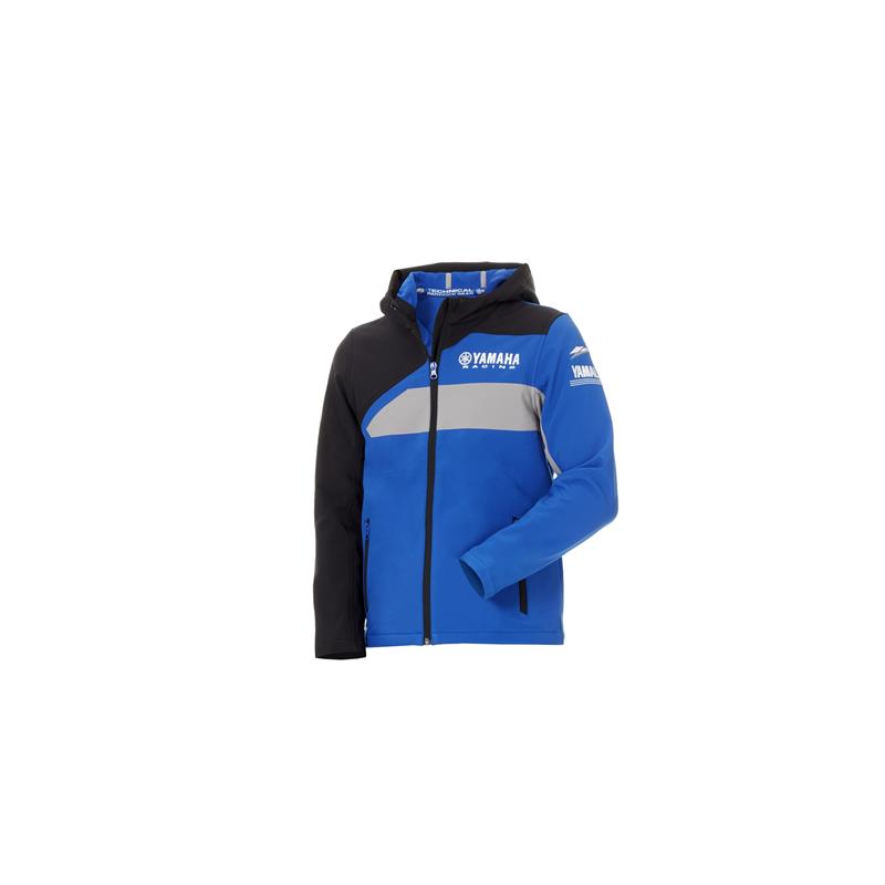 Paddock Blue-softshell-jakke for barn
