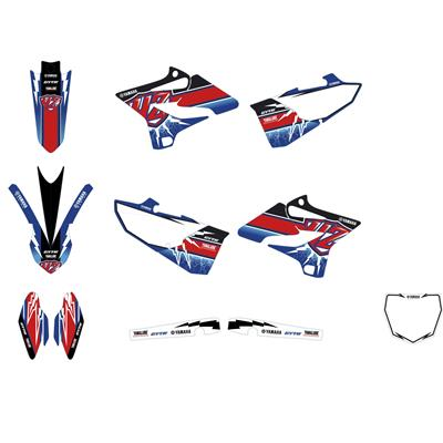 Stickerset YZ250