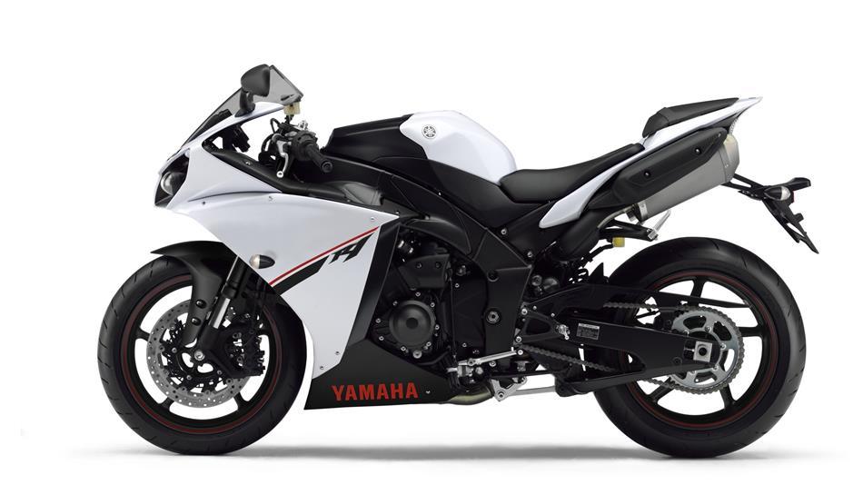 2014 Yamaha R1 White