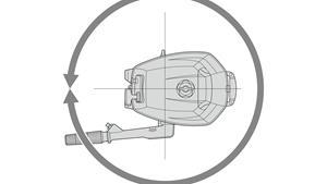 Upravljanje od 360º za trenutne promjene smjera