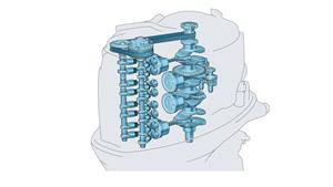 2,8-litreni DOHC motor s 4 cilindra i 16 ventila te sa sustavom EFI