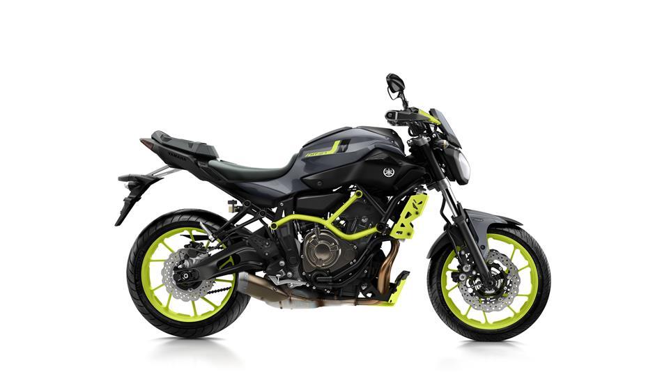 Klasse A & A2 Yamaha MT07