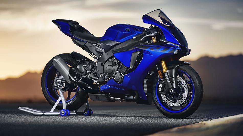 2018 Yamaha YZF R1 EU Blue Static