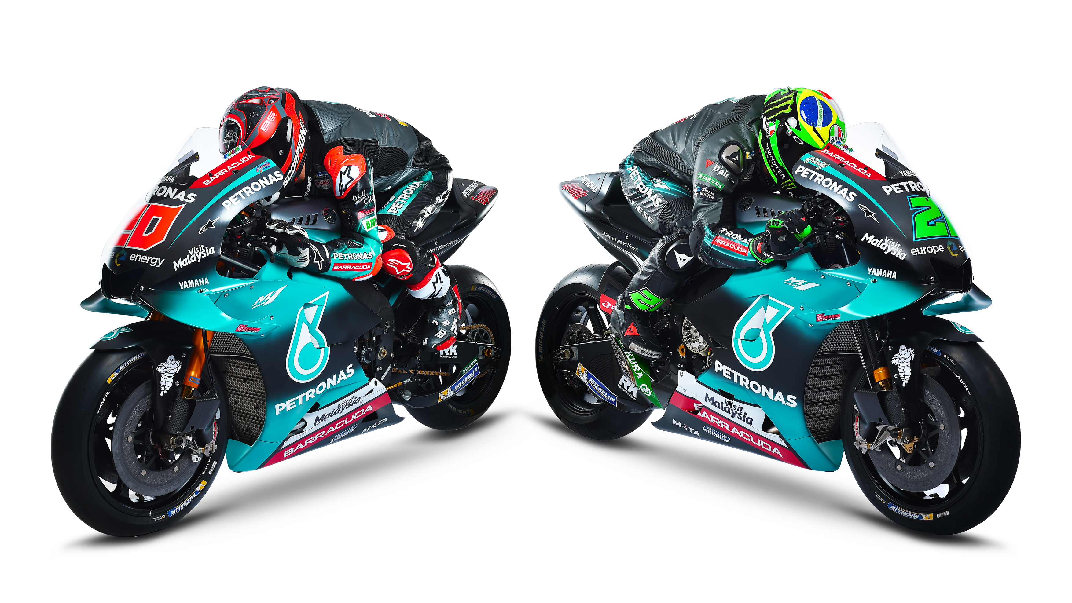 Petronas Yamaha Srt In Optimistic Mood For Historic First Motogp Race Total Motorcycle