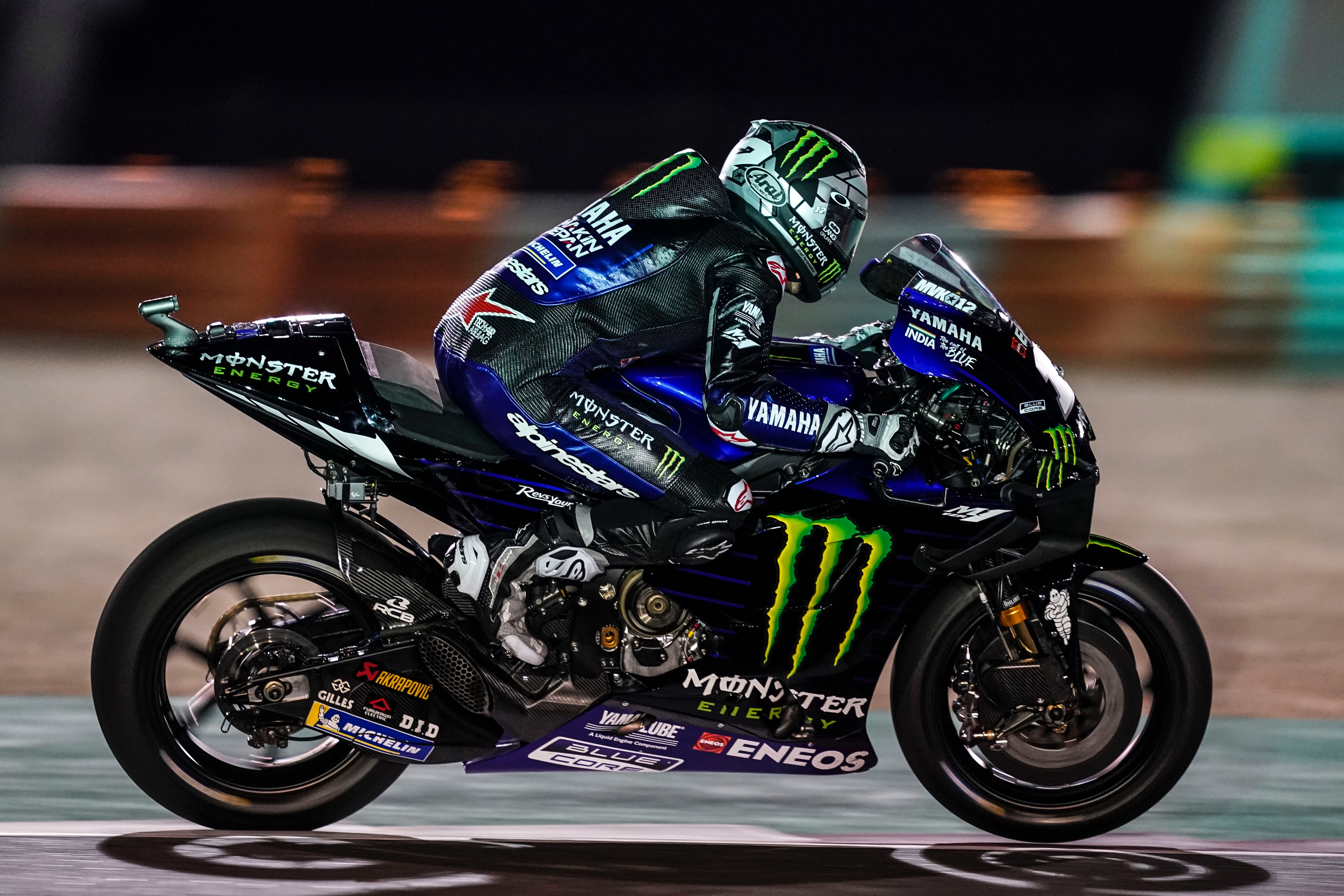 Monster Energy Yamaha MotoGP Commence 2019 Campaign in Qatar • Total Motorcycle
